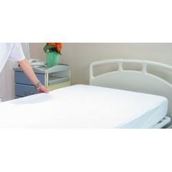 Drap housse en polyuréthane 50 microns 90x190x15 cm