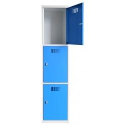 Vestiaire multicases  1 colonne 3 cases L40 x P50 x H 180 cm