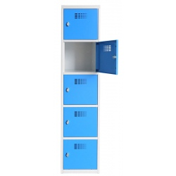 Vestiaire multicases  1 colonne 4 cases L40 x P50 x H 180 cm