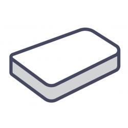 Lot de 75 alèses matelas plateau jetables blanc 70x190 cm