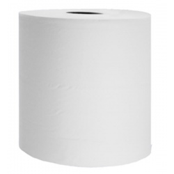Lot de 2 bobines essuyage industriel grand format gaufré blanc T15