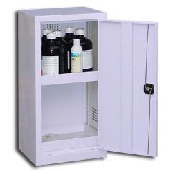 Armoire comptoir de sûreté pour produits peu dangereux à 1 porte L 50 x P 42 x H 100 cm