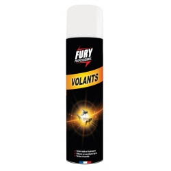Lot de 6 aérosols Tue volants Fury 400 ml