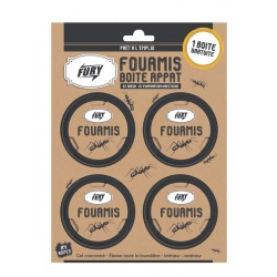 Lot de 6 boites fourmis Fury 3 + 1 gratuit