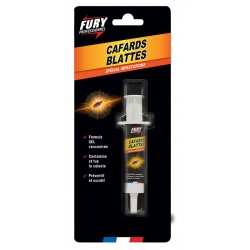 Lot de 10 blisters seringue cafards Fury