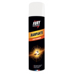 Lot de 6 aérosols Tue rampants Fury 400 ml