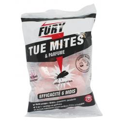 Lot de 6 sachets de 5 grosses billes anti-mites parfum douceur Fury