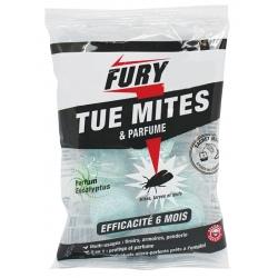 Lot de 6 sachets de 5 grosses billes anti-mites parfum eucalyptus Fury
