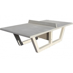 Table de ping pong en béton Eco gris naturel NF PMR