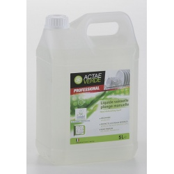 Liquide vaisselle plonge manuelle Ecolabel en bidon de 5L (le lot de 2)