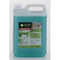 Nettoyant dégraissant toutes surfaces Ecolabel en bison de 5L (le lot de 2)