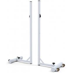 Poteaux badminton embase 20 kg (la paire)