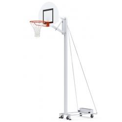 But de basket mobile scolaire déport 0,60 m avec contrepoids
