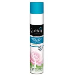 Lot de 6 aérosols Boldair destructeur d'odeurs Menthe Rose 500 ml