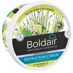 Lot de 6 unités Boldair gel destructeur d'odeurs citronnelle 300 g