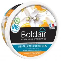 Lot de 6 unités Boldair gel destructeur d'odeurs fleur d'oranger 300 g