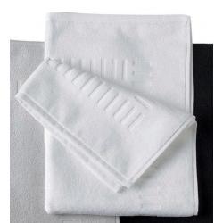 Tapis de bain 100% coton 50x70 cm 700g blanc