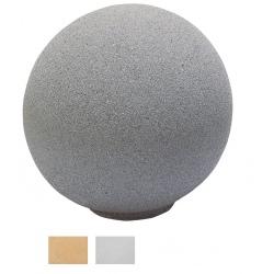 Borne Cassia ronde blanche ou ocre diam 35 cm