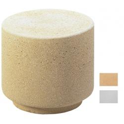 Borne Catalpa blanche ou ocre H50 cm
