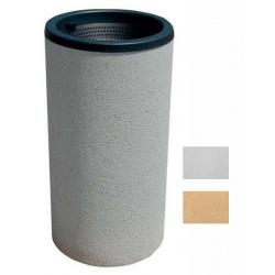 Cendrier poirier blanc ou ocre 45x88 cm