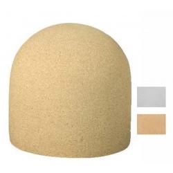 Borne Peuplier blanche ou ocre diam 45xH45 cm