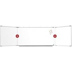 Triptyque Solution émail e3 blanc feutre H100 x L200 cm