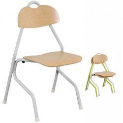 Chaise appui sur table alu ultra légère T6