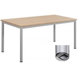 Table de restauration mobile Flore 24 mm stratifié chant PP 200 x 80 cm