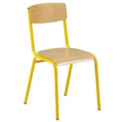 Lot de 32 chaises scolaires empilables Mona