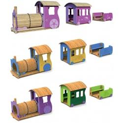 Jeux Loco et ses 2 wagons (1 à 12 ans)