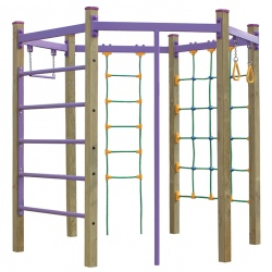 Multijeux Escalade Hexagonale (3 à 12 ans)