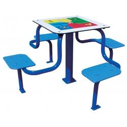 Table de jeux Petits Chevaux anti-vandalisme