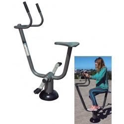 Fitness extérieur : Bicyclette