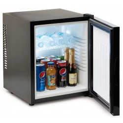 Minibar silencieux 19 L noir porte pleine L40,2 x P35,1 x H44,8 cm