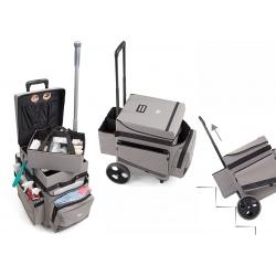 Chariot de service compact H-Cube avec roues axiales