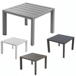 Table basse Sunset aluminium 50x50 cm