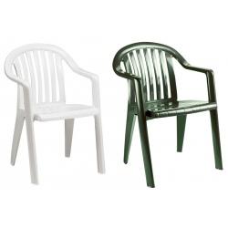 Lot de 50 fauteuils Miami (coloris blanc ou vert amazonie)