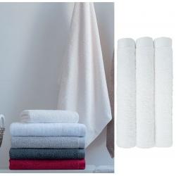 Drap de bain Cléome blanc 70x140 cm 500g