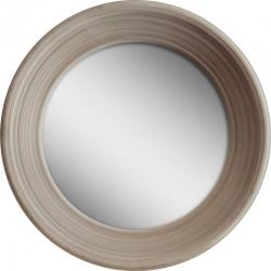 Miroir Elégance beige  ø 65 cm