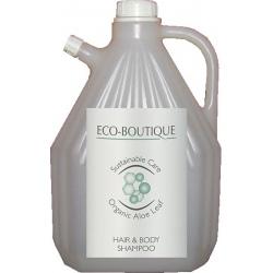 Lot de 4 recharges shampooing corps et cheveux Eco Boutique 3 L