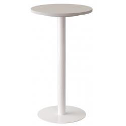 Mange debout plateau blanc ou hêtre Ø 60 x H 110 cm