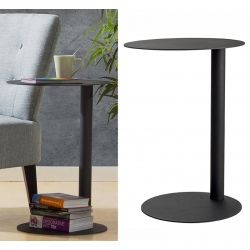 Table d'appoint Ø 40 x H 57 cm anthracite
