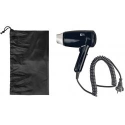 Sèche-cheveux à poser Aura noir avec sac 1800 w