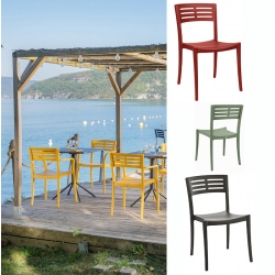 Lot de 16 chaises Urban