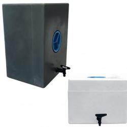Lave mains mobile PEHD avec bouchon et robinet 80 L