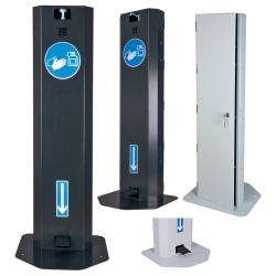 Distributeur mécanique de gel hydroalcoolique