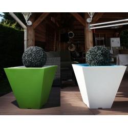 Double pot décoratif Colors® Square 60 x 60 x H60 cm