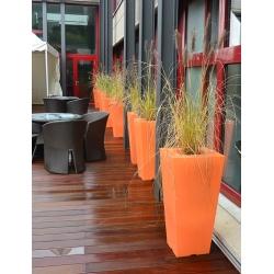 Double pot décoratif Colors® Stark 40 x 40 x H80 cm