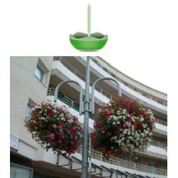 Suspension L55 cm avec vasque diamètre 48 cm