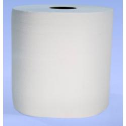Pack de 2 bobines industrielles Ecolabel 800 format 24x21,3 cm blanc